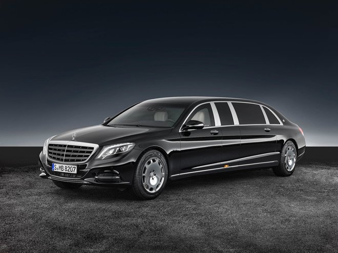Soi can canh xe 'khung' Mercedes-Benz S600 dac trach cho ong Kim Jong Un tai Singapore hinh anh 5