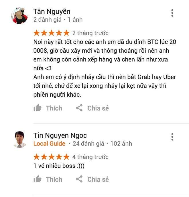 Cay cau 'vinh biet Bitcoin' o Sai Gon tren Google Maps hinh anh 2