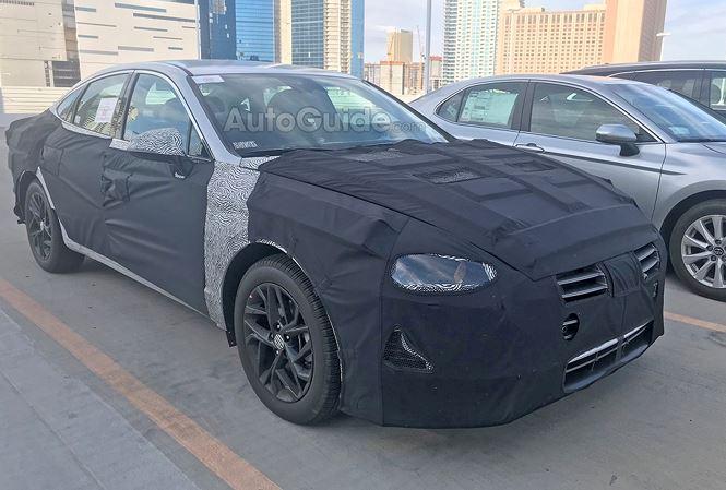 Hyundai Sonata 2020 lo nhung hinh anh dau tien hinh anh 1