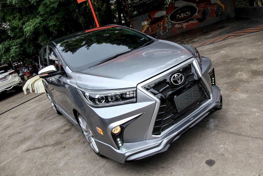 Toyota Innova do phong cach Lexus tai Ha Noi hinh anh 3