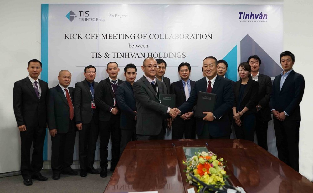 TIS Inc tro thanh co dong chien luoc cua Tinhvan Group hinh anh 1
