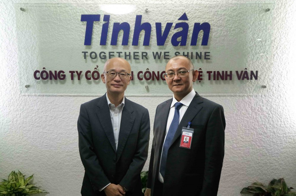 TIS Inc tro thanh co dong chien luoc cua Tinhvan Group hinh anh 2