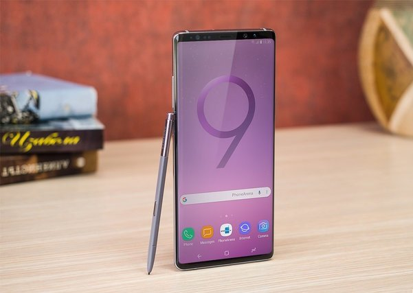 Galaxy Note 9 lo dien voi mau vang ruc doc dao hinh anh 1