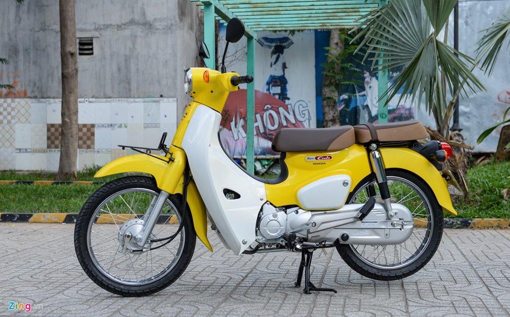 Huyen thoai Honda Super Cub doi 2018 gia 80 trieu dong ve Viet Nam hinh anh 2