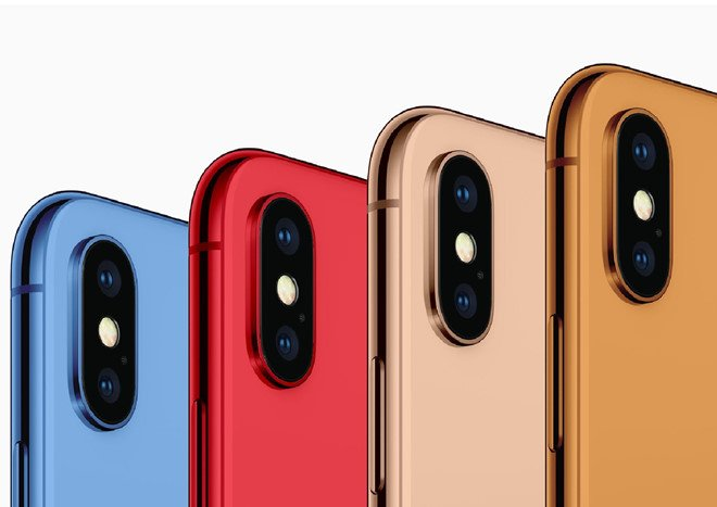 iPhone 2018 xuat hien 5 mau moi, doc dao hon iPhone 5C hinh anh 1