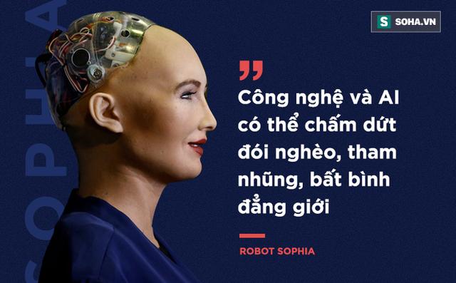 Tai sao Sophia - robot dau tien tren the gioi duoc cap quyen cong dan den Viet Nam? hinh anh 1