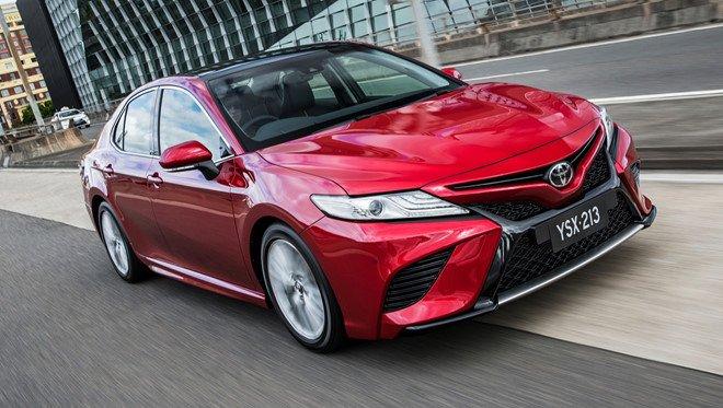 Toyota Camry 2019 lan dau chay thu o Dong Nam A hinh anh 2