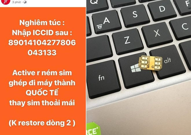 iPhone khoa mang thanh may quoc te, khong can SIM ghep o Viet Nam hinh anh 1