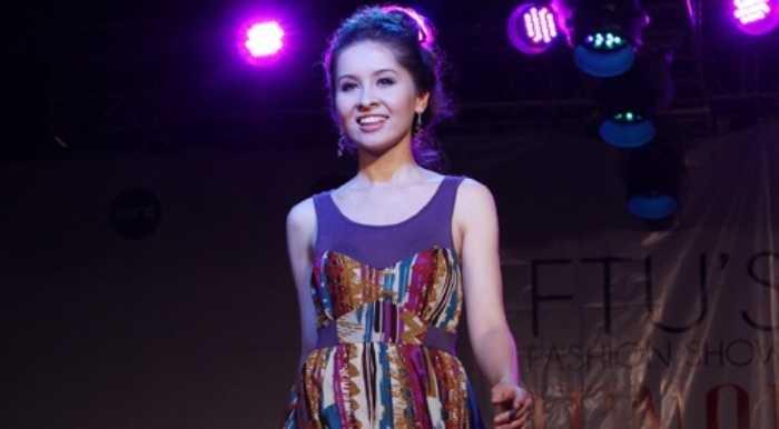 A quan Vietnam's Next top model gop mat trong show dien thoi trang tu thien sinh vien hinh anh 2