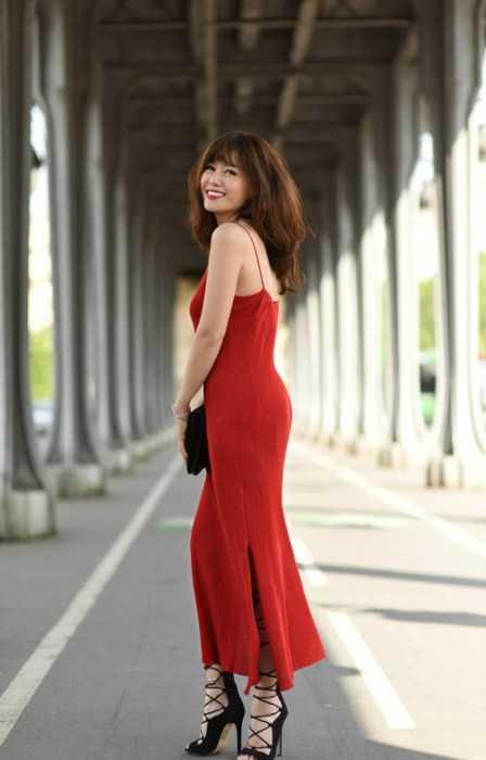 Nhan sac xinh dep cua hot girl Viet 28 tuoi so huu bang tien sy o Phap hinh anh 1
