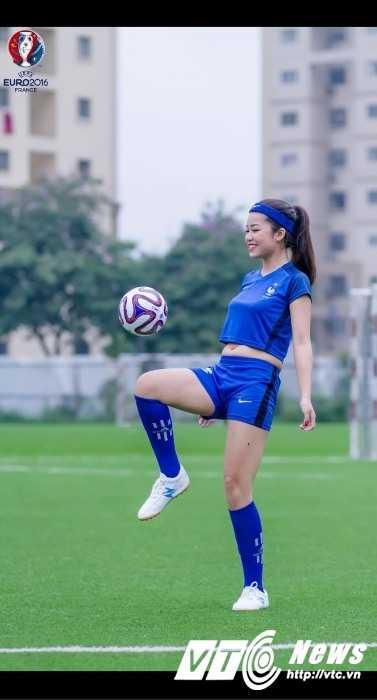 Hot girl Ha thanh me man Antoine Griezmann, du doan Phap vo dich Euro 2016 hinh anh 3