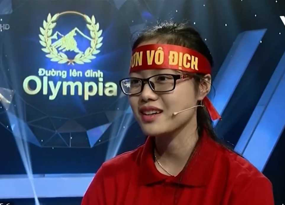Hot girl Duong len dinh Olympia do Dai hoc Ngoai thuong nam 2016 hinh anh 1