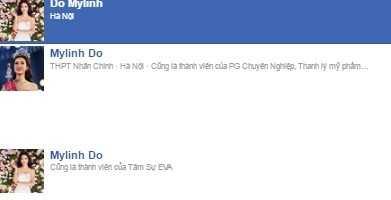 Xuat hien hang loat ke mao danh, Hoa hau Viet Nam 2016 khoa facebook hinh anh 1