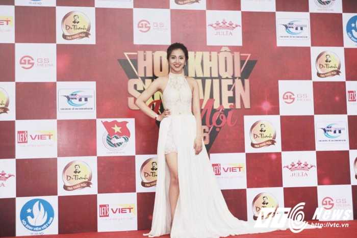 Ngam ve dep trong veo cua hot girl Dai hoc Phuong Dong hinh anh 2