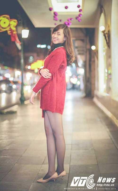 Ngam ve dep trong veo cua hot girl Dai hoc Phuong Dong hinh anh 6