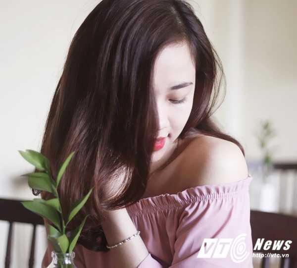 Ngam ve dep trong veo cua hot girl Dai hoc Phuong Dong hinh anh 11