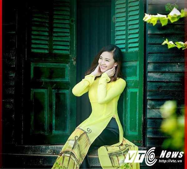 Ngam ve dep trong veo cua hot girl Dai hoc Phuong Dong hinh anh 12