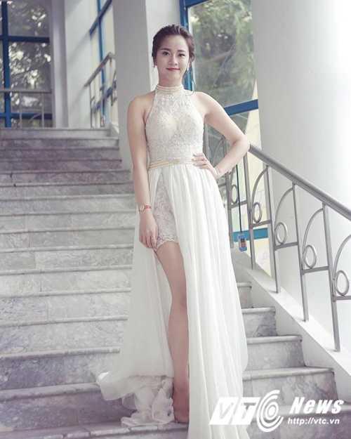 Ngam ve dep trong veo cua hot girl Dai hoc Phuong Dong hinh anh 5