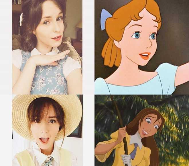 Lo dien 'ban sao' xinh dep cua nu dien vien Emma Watson hinh anh 8