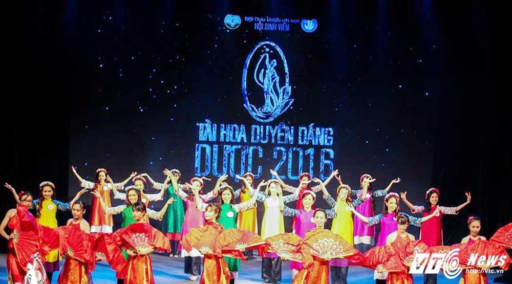 Nu sinh xinh dep dang quang 'Tai hoa duyen dang Duoc' 2016 hinh anh 1