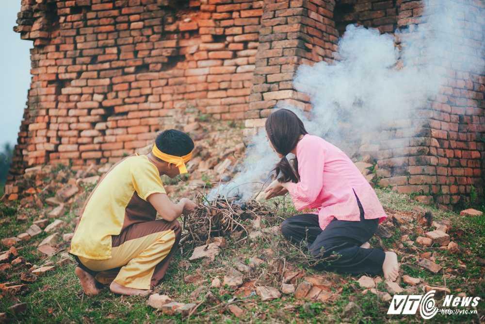 Anh cuoi 'Chi Pheo – Thi No' cua cap doi Ha Tinh hut dan mang hinh anh 2