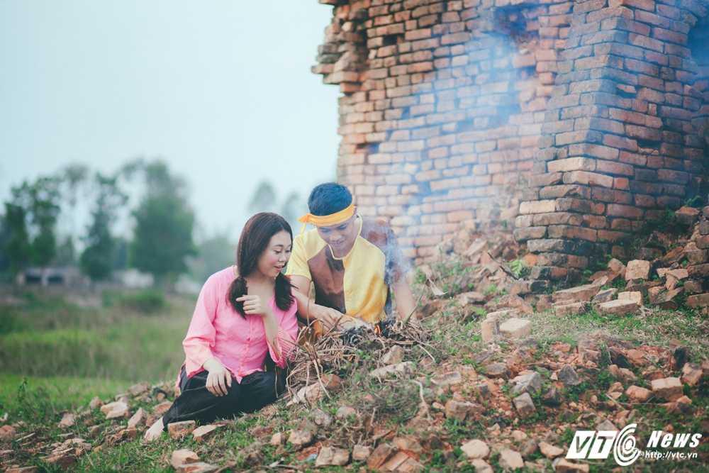 Anh cuoi 'Chi Pheo – Thi No' cua cap doi Ha Tinh hut dan mang hinh anh 3
