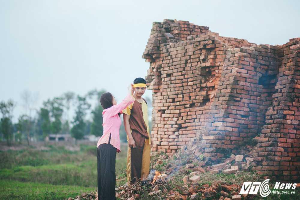 Anh cuoi 'Chi Pheo – Thi No' cua cap doi Ha Tinh hut dan mang hinh anh 4