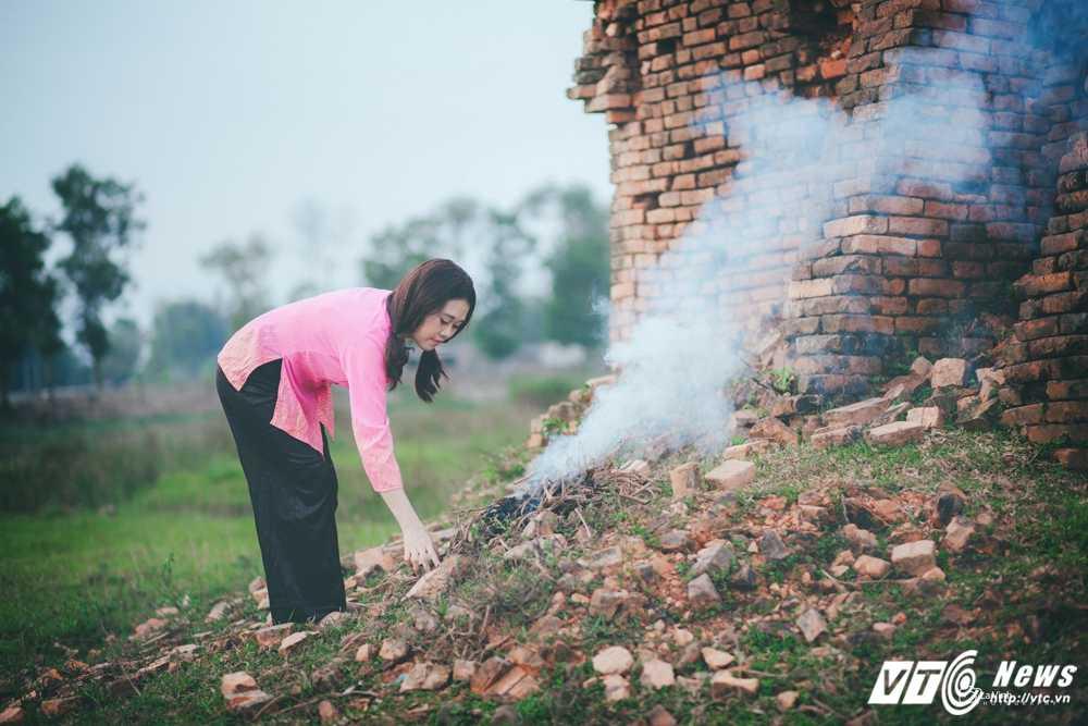 Anh cuoi 'Chi Pheo – Thi No' cua cap doi Ha Tinh hut dan mang hinh anh 5