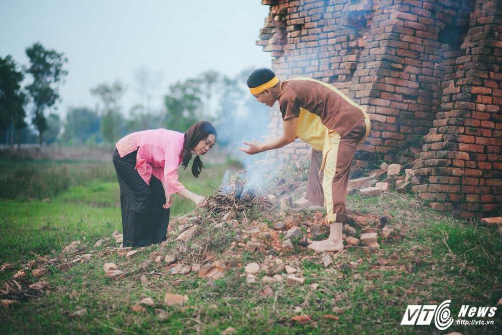 Anh cuoi 'Chi Pheo – Thi No' cua cap doi Ha Tinh hut dan mang hinh anh 6