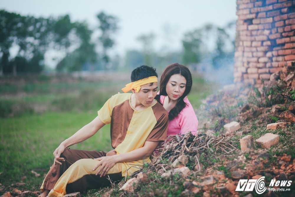 Anh cuoi 'Chi Pheo – Thi No' cua cap doi Ha Tinh hut dan mang hinh anh 1
