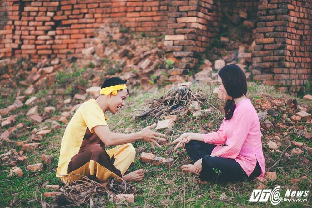 Anh cuoi 'Chi Pheo – Thi No' cua cap doi Ha Tinh hut dan mang hinh anh 9