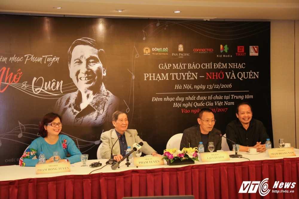 Nha bao Lai Van Sam: Toi 'xin' tham gia dem nhac 'Pham Tuyen – Nho va quen' hinh anh 1
