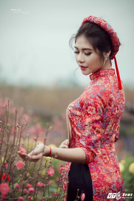 Hoa khoi sinh vien Ha Noi 2016 khoe sac ben dao Xuan don Tet hinh anh 14