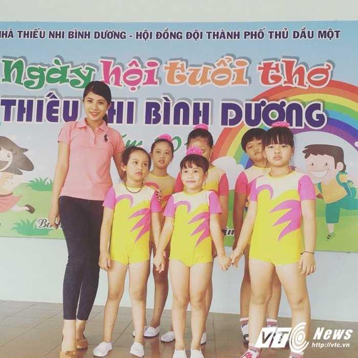 Co giao tre day aerobic duoc vi la 'ban sao' Hoa hau Ngoc Han hinh anh 9