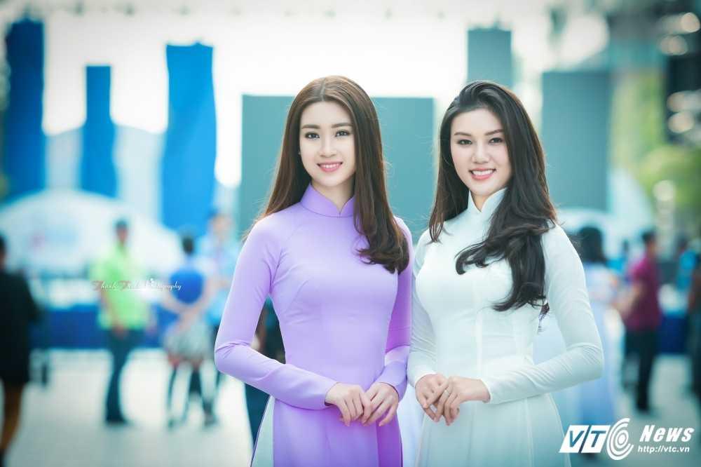 A khoi xinh dep khoe eo thon, dang chuan trong Le hoi ao dai 2017 hinh anh 5