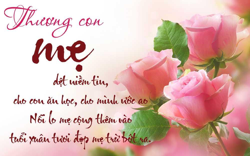 Ngay Quoc te Phu nu 2017: Nhung bai tho hay tang me hinh anh 1
