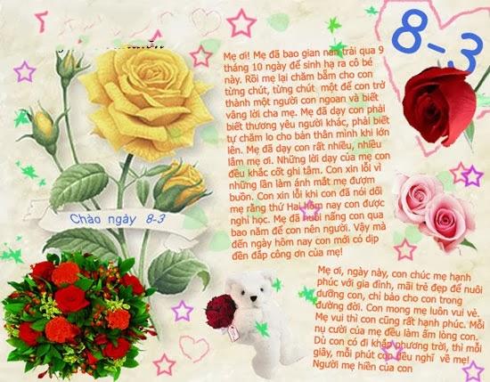 Ngay Quoc te Phu nu 8/3: Nhung loi chuc y nghia nhat danh tang me hinh anh 2