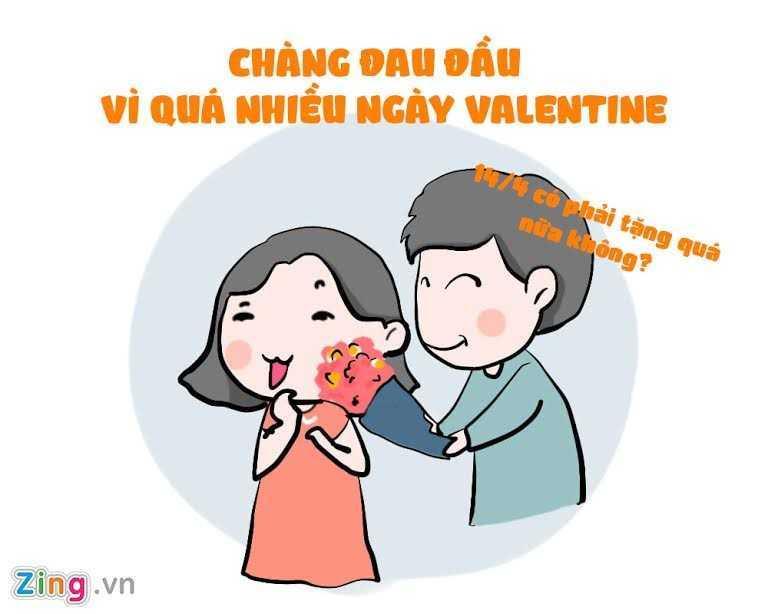 Ngay Valentine Trang 14/3: Nhung tinh huong do khoc do cuoi ban tre hay gap hinh anh 4