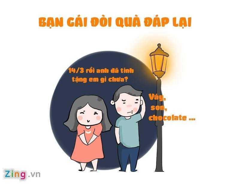 Ngay Valentine Trang 14/3: Nhung tinh huong do khoc do cuoi ban tre hay gap hinh anh 2