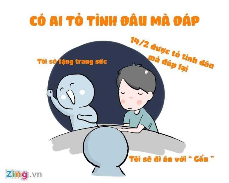 Ngay Valentine Trang 14/3: Nhung tinh huong do khoc do cuoi ban tre hay gap hinh anh 5