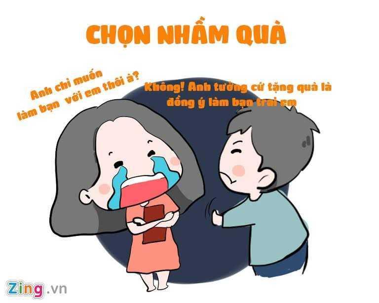 Ngay Valentine Trang 14/3: Nhung tinh huong do khoc do cuoi ban tre hay gap hinh anh 7