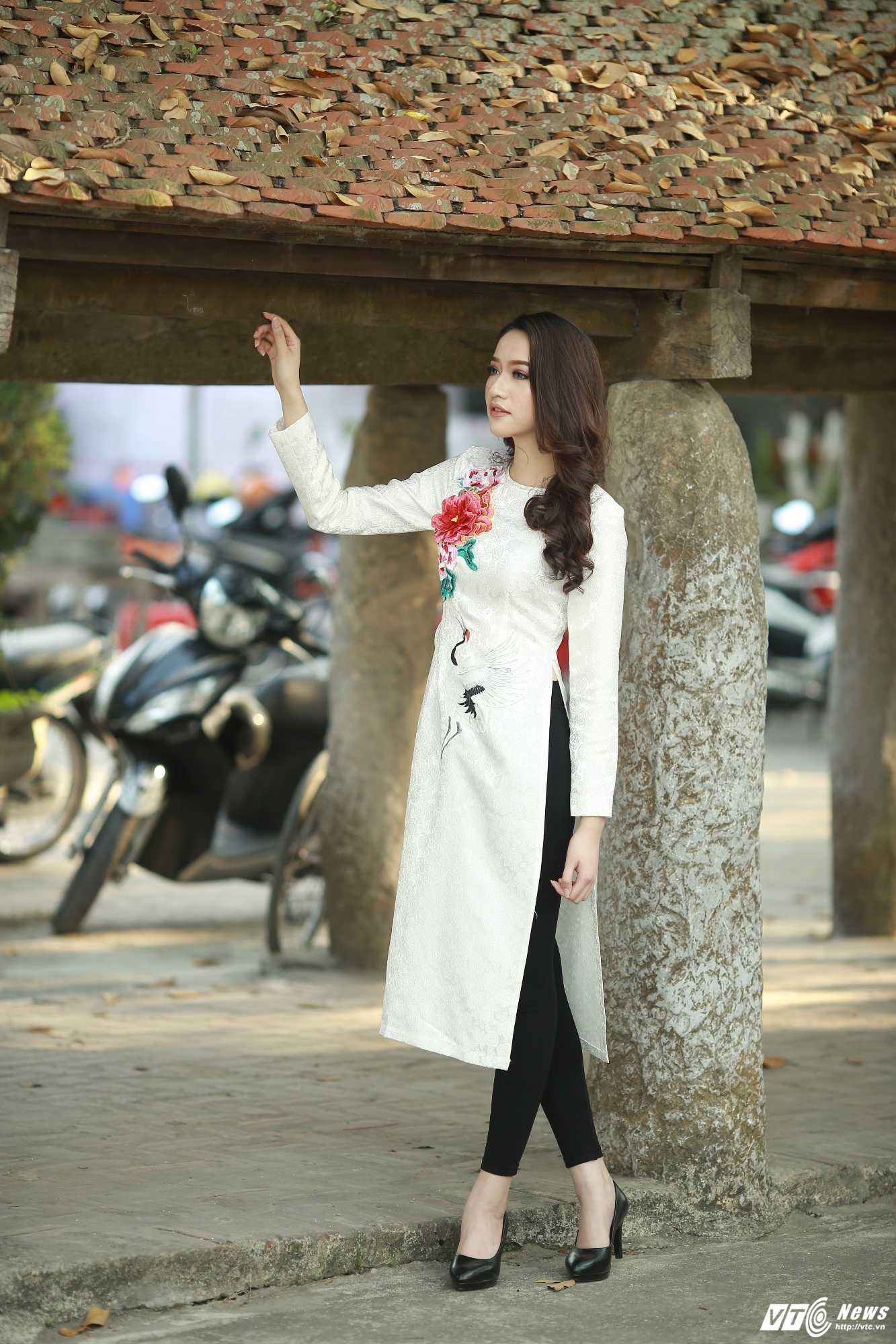 Nhan sac xinh dep cua Hoa khoi 'Nguoi dep Kinh Bac 2017' hinh anh 8
