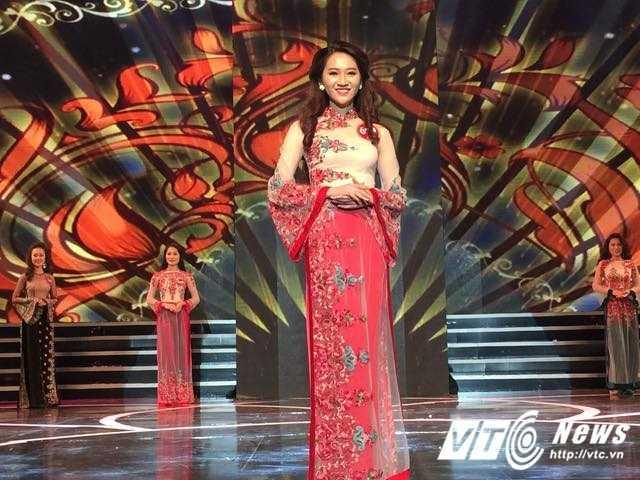 Nhan sac xinh dep cua Hoa khoi 'Nguoi dep Kinh Bac 2017' hinh anh 9