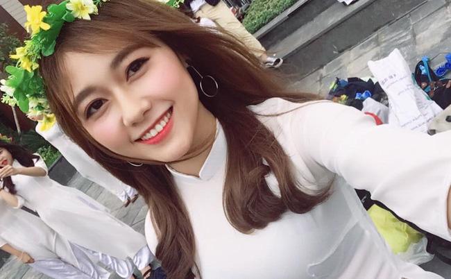 Nu cuoi toa nang cua 'ban sao' hot girl Kha Ngan hinh anh 10
