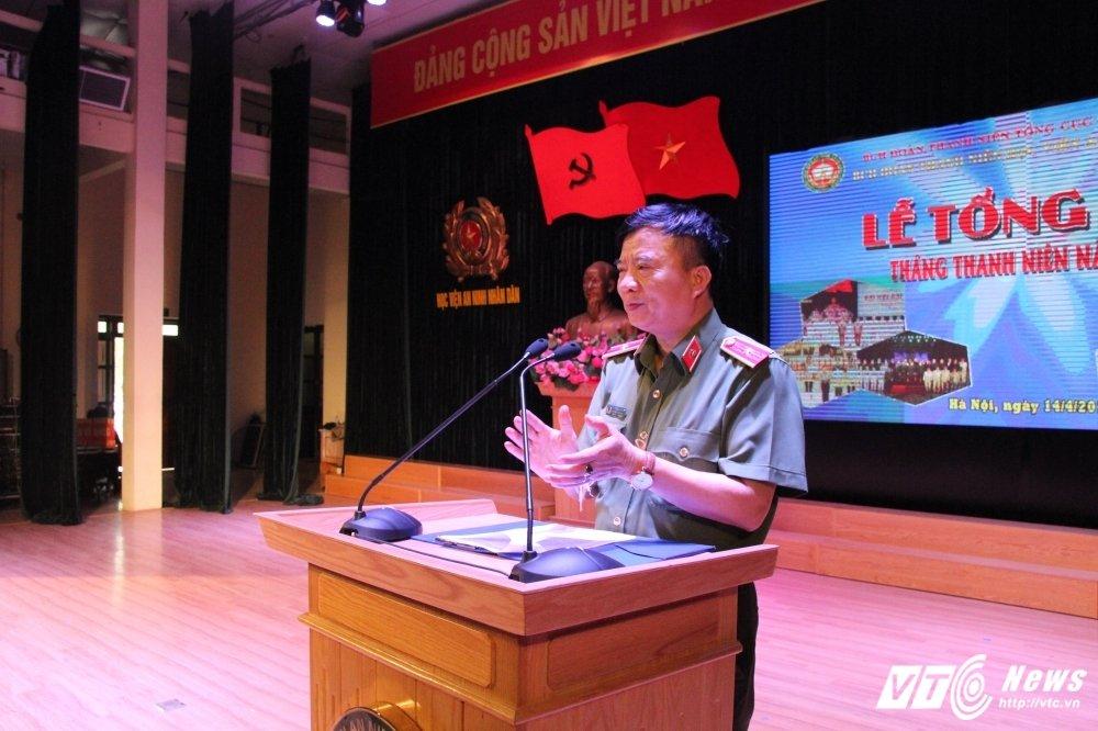 Hoc vien An ninh tong ket Thang Thanh nien: Nhieu thanh tich dac biet hinh anh 4