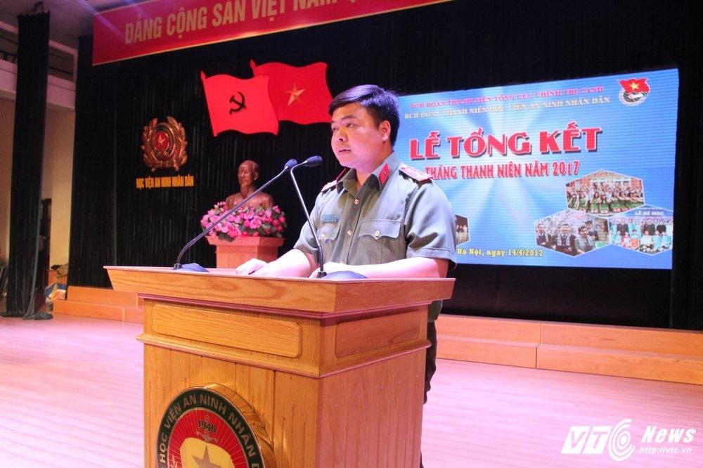 Hoc vien An ninh tong ket Thang Thanh nien: Nhieu thanh tich dac biet hinh anh 5