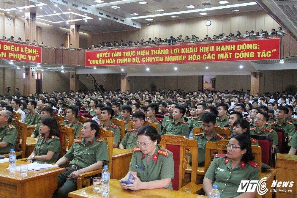 Hoc vien An ninh tong ket Thang Thanh nien: Nhieu thanh tich dac biet hinh anh 7