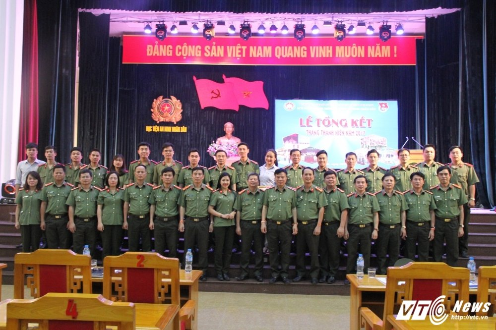 Hoc vien An ninh tong ket Thang Thanh nien: Nhieu thanh tich dac biet hinh anh 8