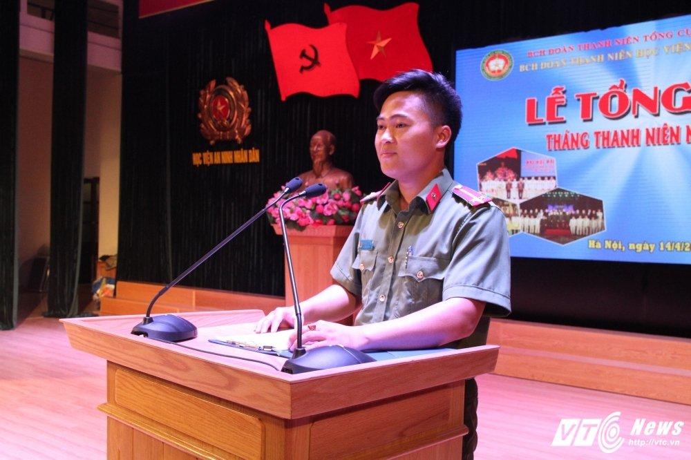 Hoc vien An ninh tong ket Thang Thanh nien: Nhieu thanh tich dac biet hinh anh 6