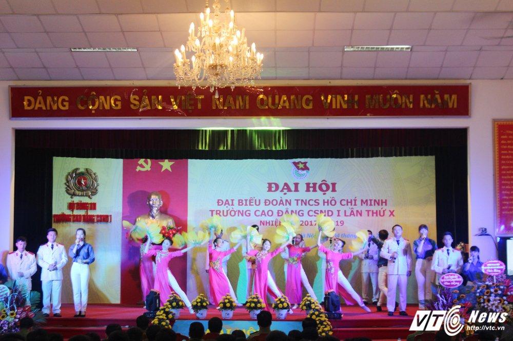 Thanh tich noi bat cua tuoi tre Cao dang Canh sat nhan dan I hinh anh 1